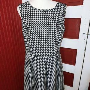 Calvin Klein Houndstooth Dress 18W